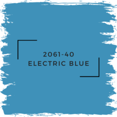 Benjamin Moore 2061-40 Electric Blue