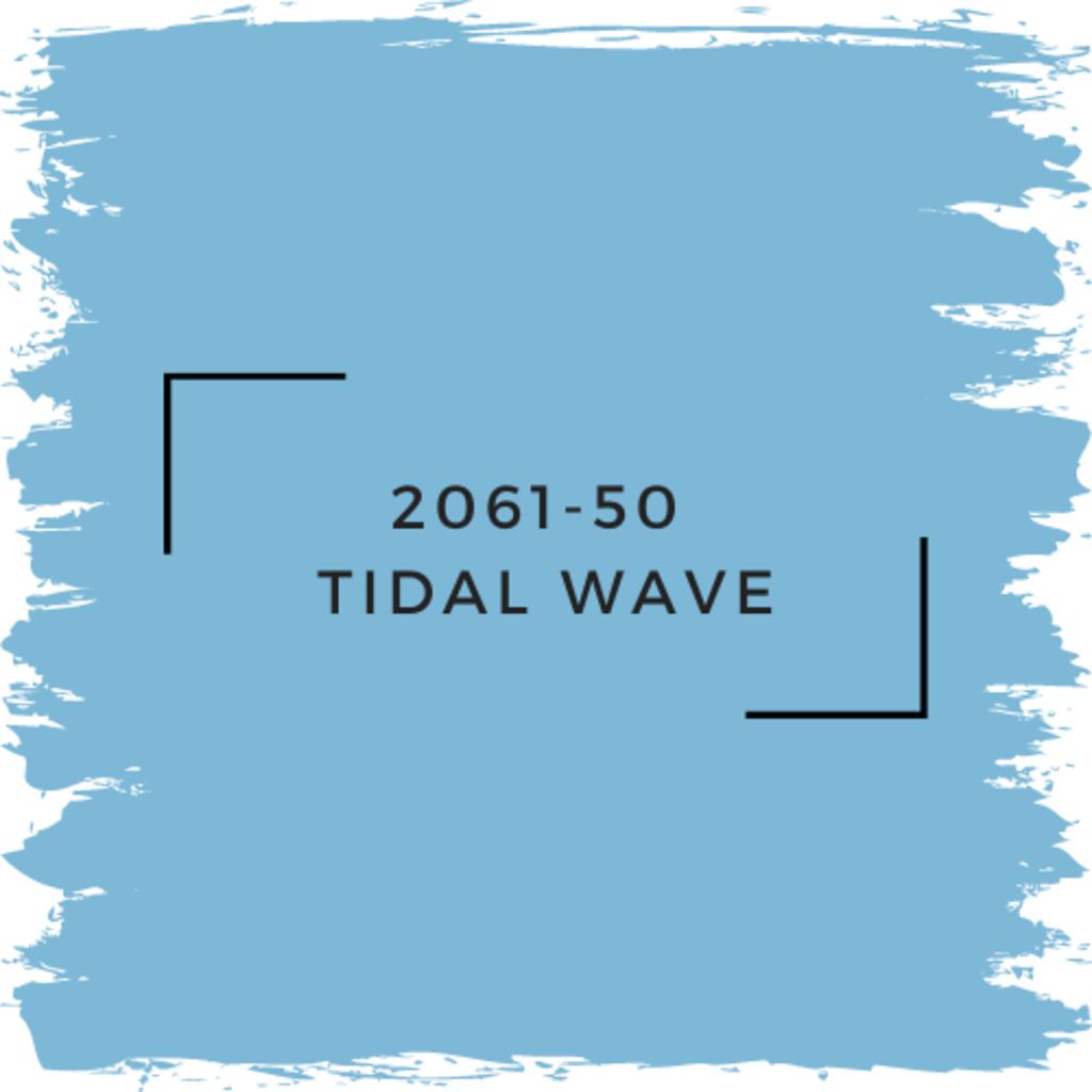 Benjamin Moore 2061-50  Tidal Wave