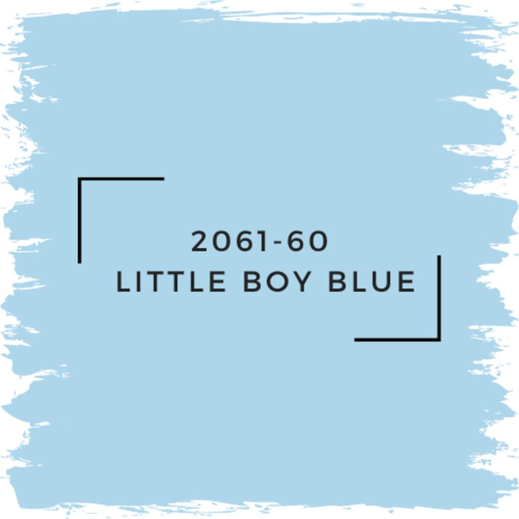 Benjamin Moore 2061-60  Little Boy Blue