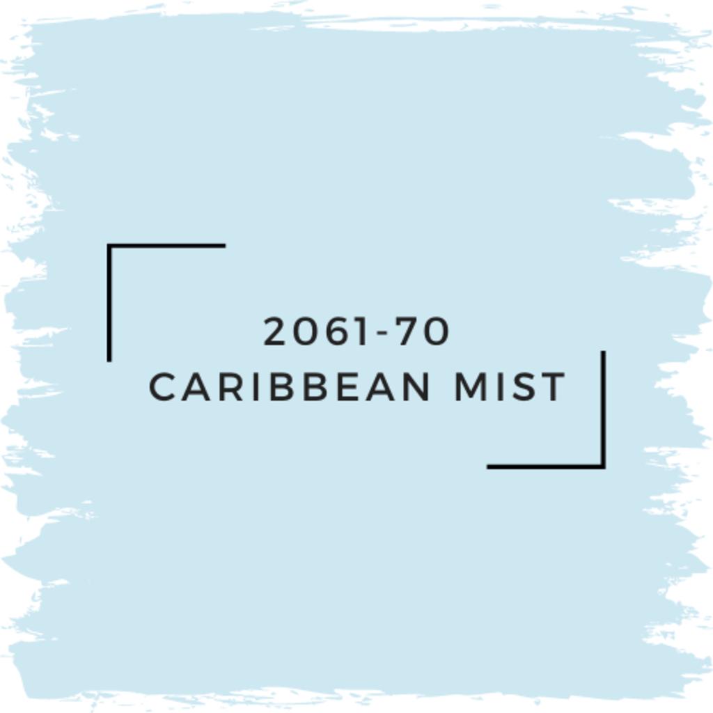 Benjamin Moore 2061-70 Caribbean Mist