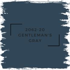 Benjamin Moore 2062-20 Gentleman's Gray
