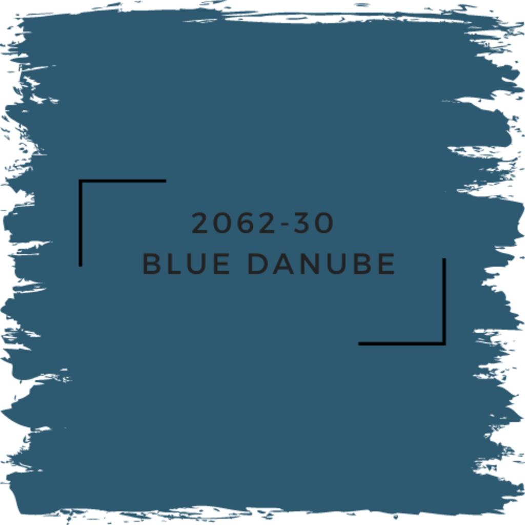 Benjamin Moore 2062-30  Blue Danube