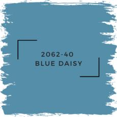 Benjamin Moore 2062-40  Blue Daisy