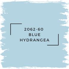 Benjamin Moore 2062-60  Blue Hydrangea
