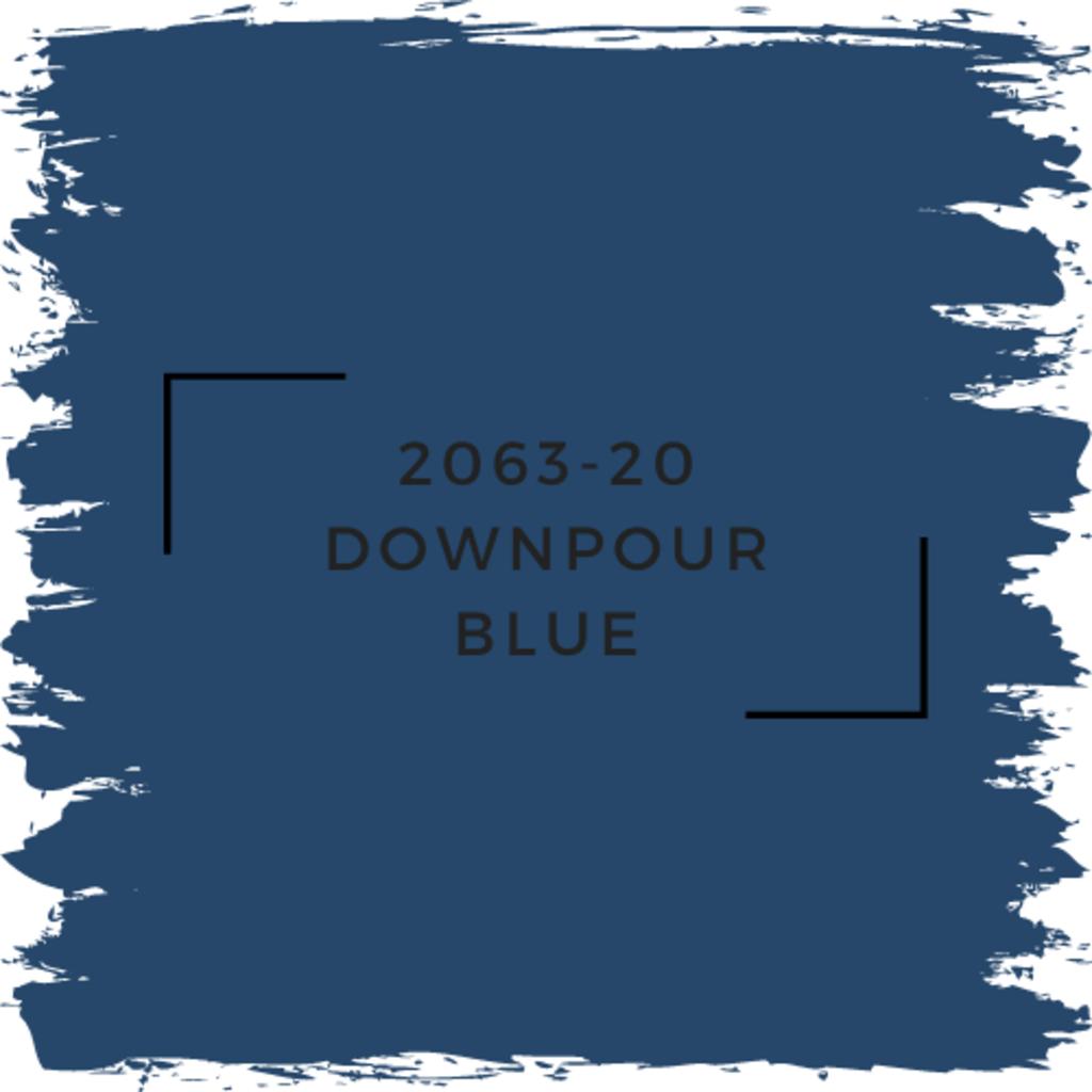 Benjamin Moore 2063-20 Downpour Blue