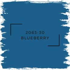 Benjamin Moore 2063-30 Blueberry