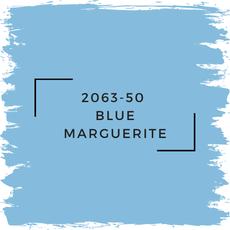 Benjamin Moore 2063-50  Blue Marguerite