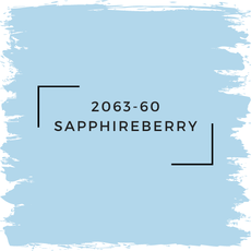 Benjamin Moore 2063-60 Sapphireberry