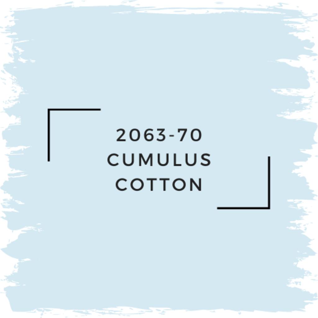 Benjamin Moore 2063-70 Cumulus Cotton