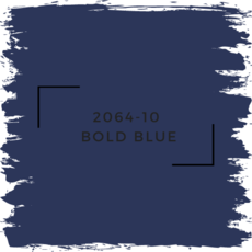 Benjamin Moore 2064-10  Bold Blue