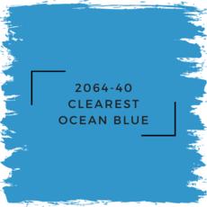 Benjamin Moore 2064-40 Clearest Ocean Blue