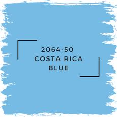 Benjamin Moore 2064-50  Costa Rica Blue