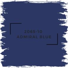Benjamin Moore 2065-10  Admiral Blue