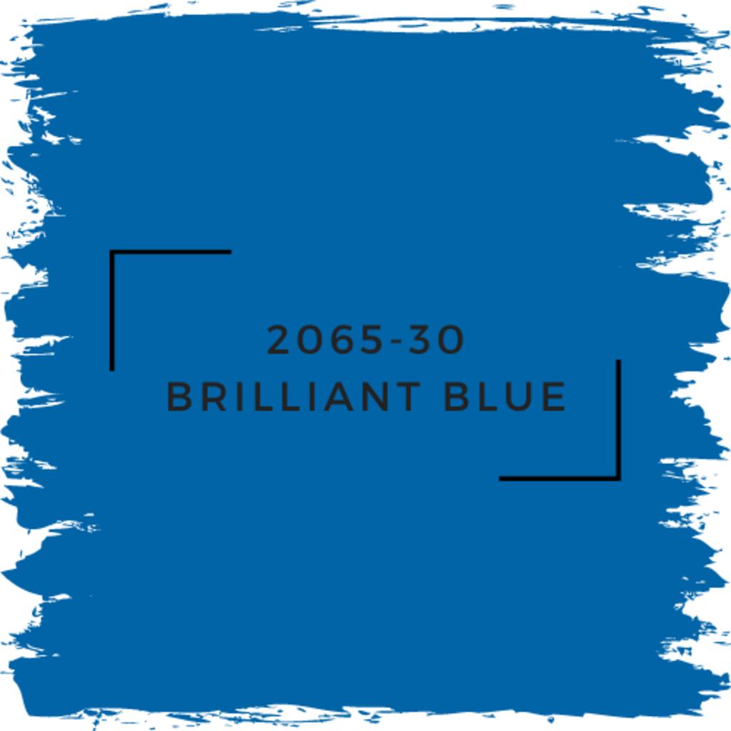 Benjamin Moore 2065-30 Brilliant Blue