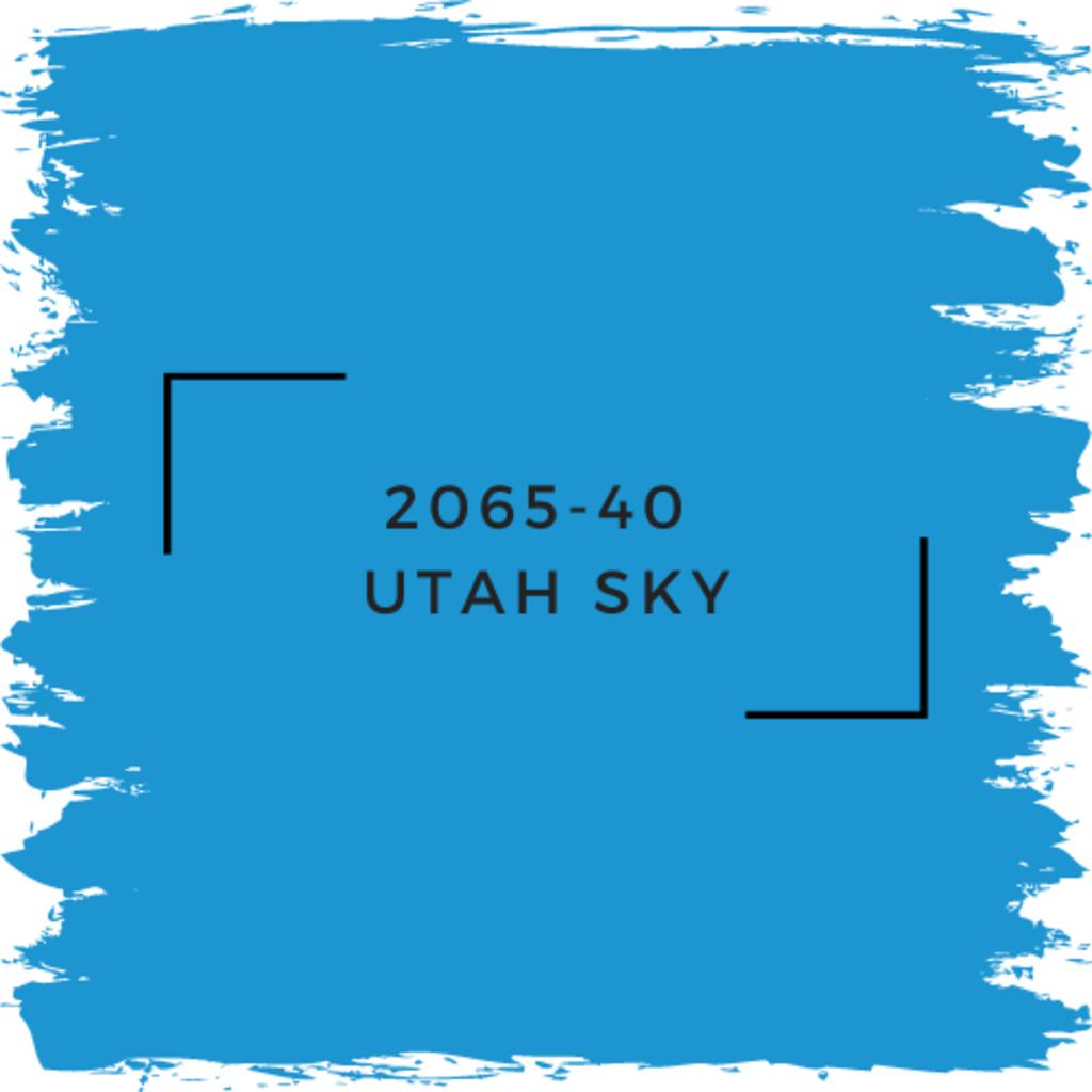 Benjamin Moore 2065-40  Utah Sky
