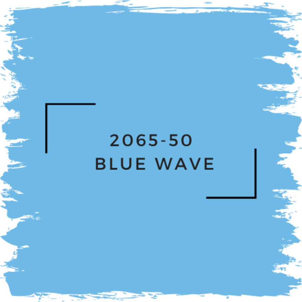 Benjamin Moore 2065-50  Blue Wave