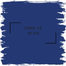 Benjamin Moore 2066-10  Blue