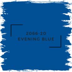 Benjamin Moore 2066-20 Evening Blue