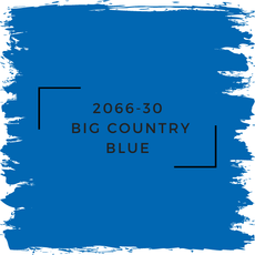 Benjamin Moore 2066-30  Big Country Blue