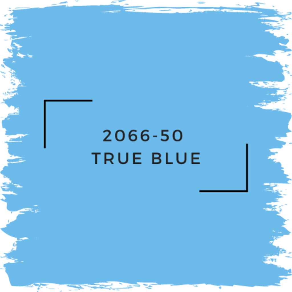Benjamin Moore 2066-50  True Blue