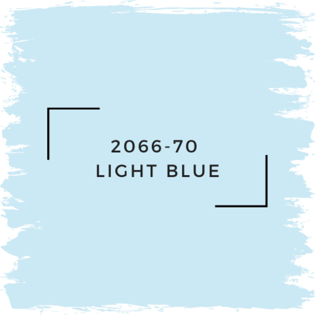 Benjamin Moore 2066-70  Light Blue