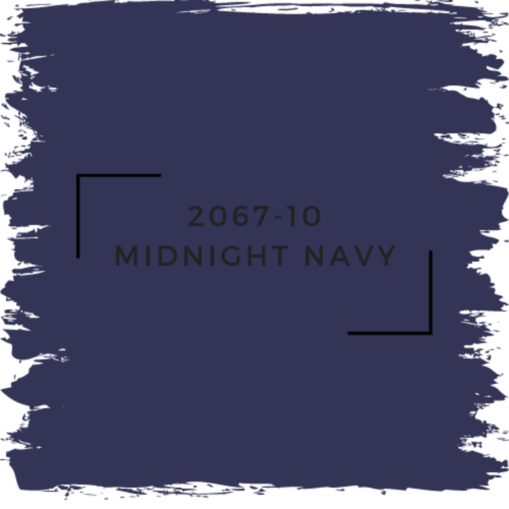 Benjamin Moore 2067-10 Midnight Navy