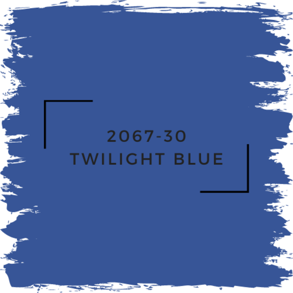 Benjamin Moore 2067-30 Twilight Blue