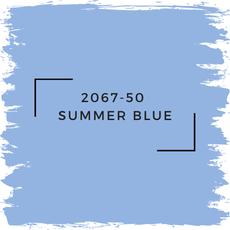Benjamin Moore 2067-50  Summer Blue