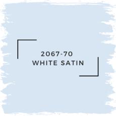 Benjamin Moore 2067-70  White Satin