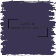 Benjamin Moore 2068-10 Majestic Violet
