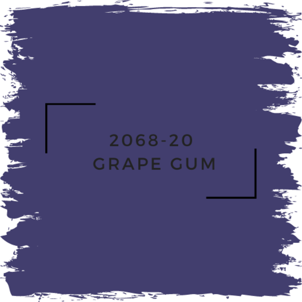 Benjamin Moore 2068-20  Grape Gum