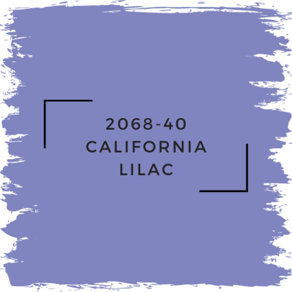 Benjamin Moore 2068-40 California Lilac