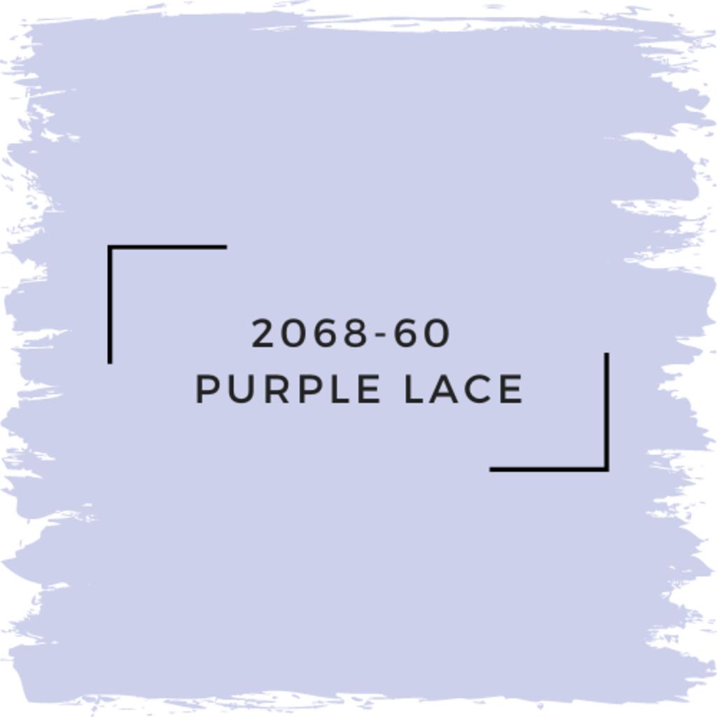 Benjamin Moore 2068-60  Purple Lace