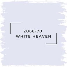 Benjamin Moore 2068-70  White Heaven