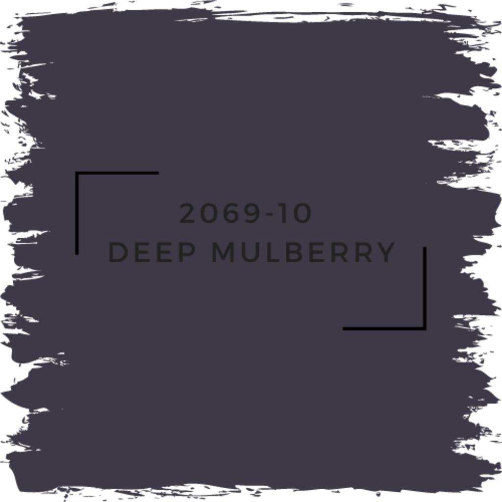 Benjamin Moore 2069-10  Deep Mulberry