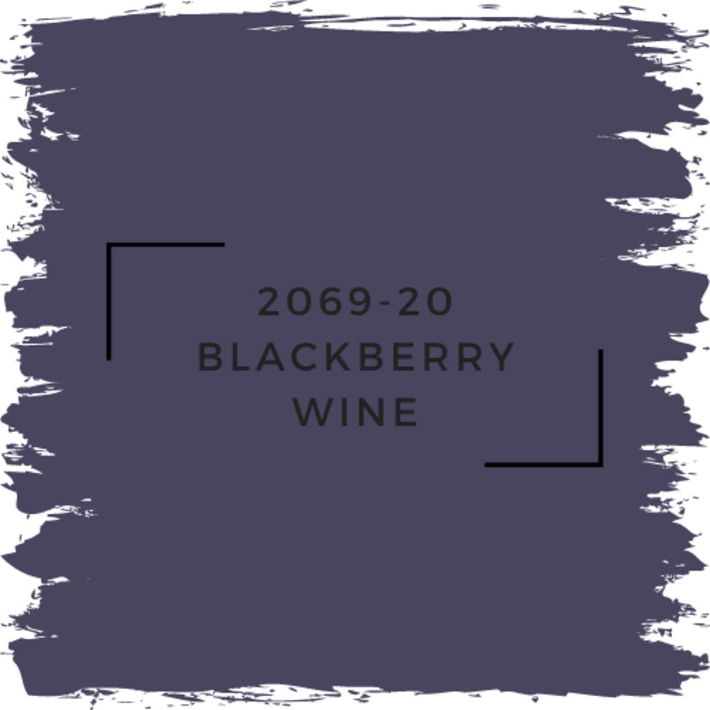 Benjamin Moore 2069-20 Blackberry Wine