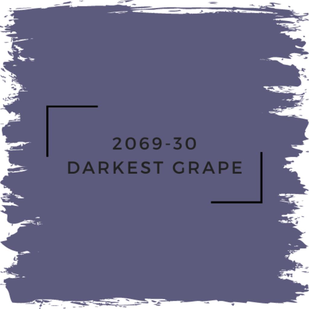 Benjamin Moore 2069-30 Darkest Grape
