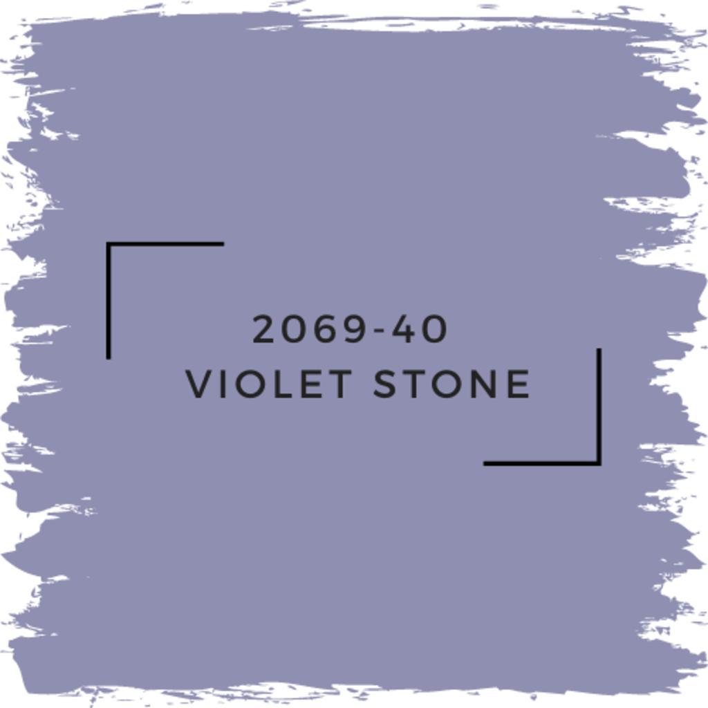 Benjamin Moore 2069-40  Violet Stone