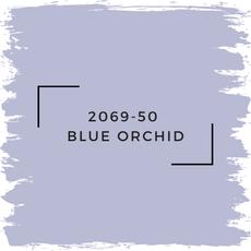 Benjamin Moore 2069-50  Blue Orchid
