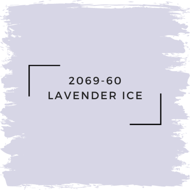 Benjamin Moore 2069-60 Lavender Ice