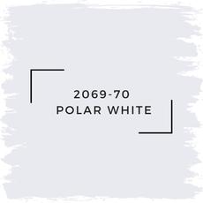 Benjamin Moore 2069-70  Polar White