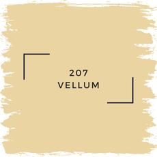 Benjamin Moore 207 Vellum