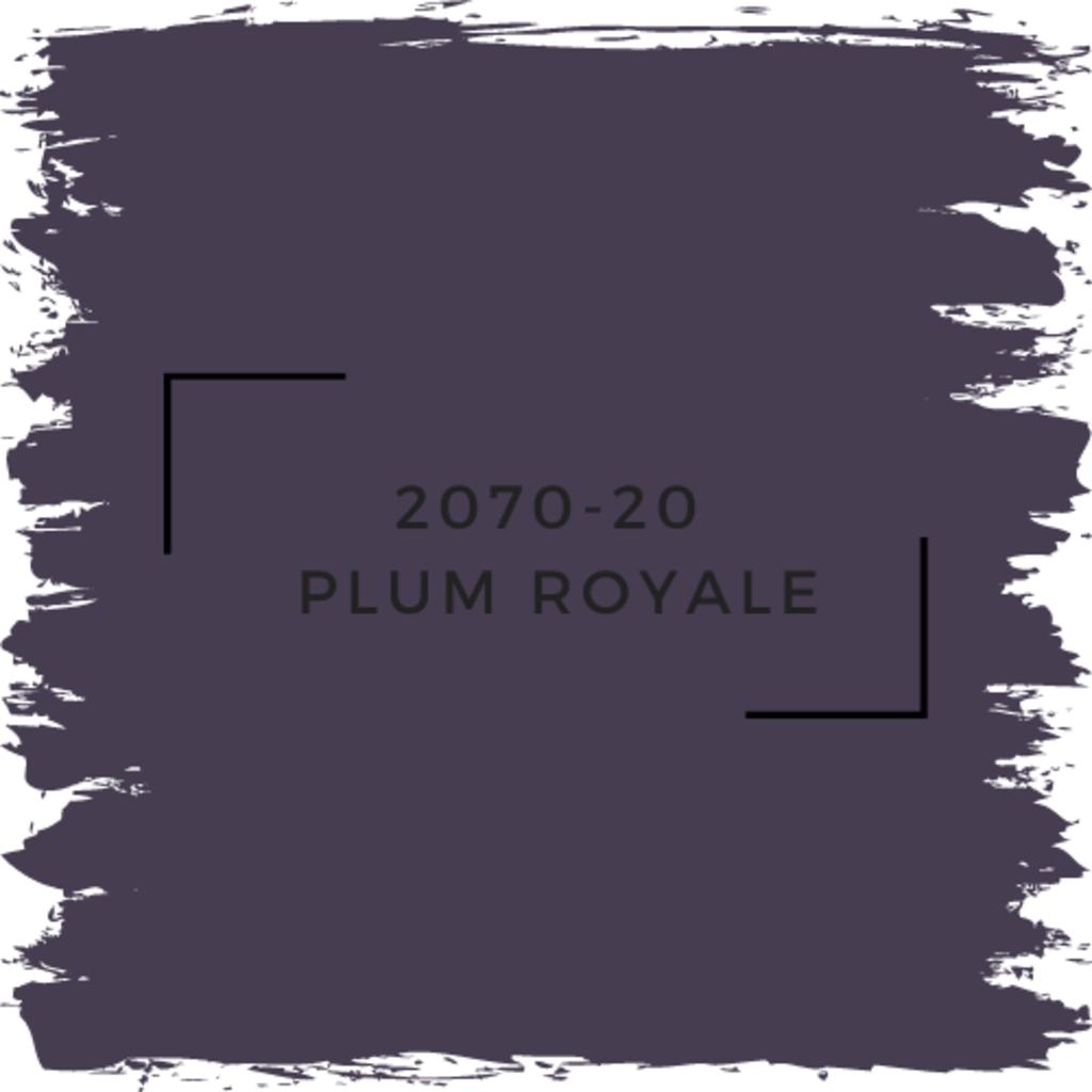 Benjamin Moore 2070-20  Plum Royale