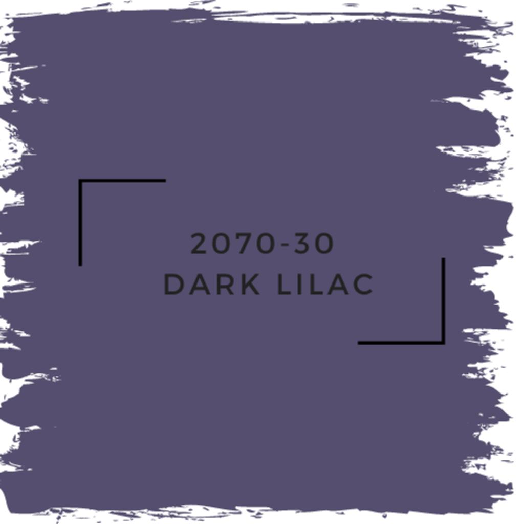 Benjamin Moore 2070-30  Dark Lilac