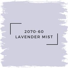 Benjamin Moore 2070-60 Lavender Mist