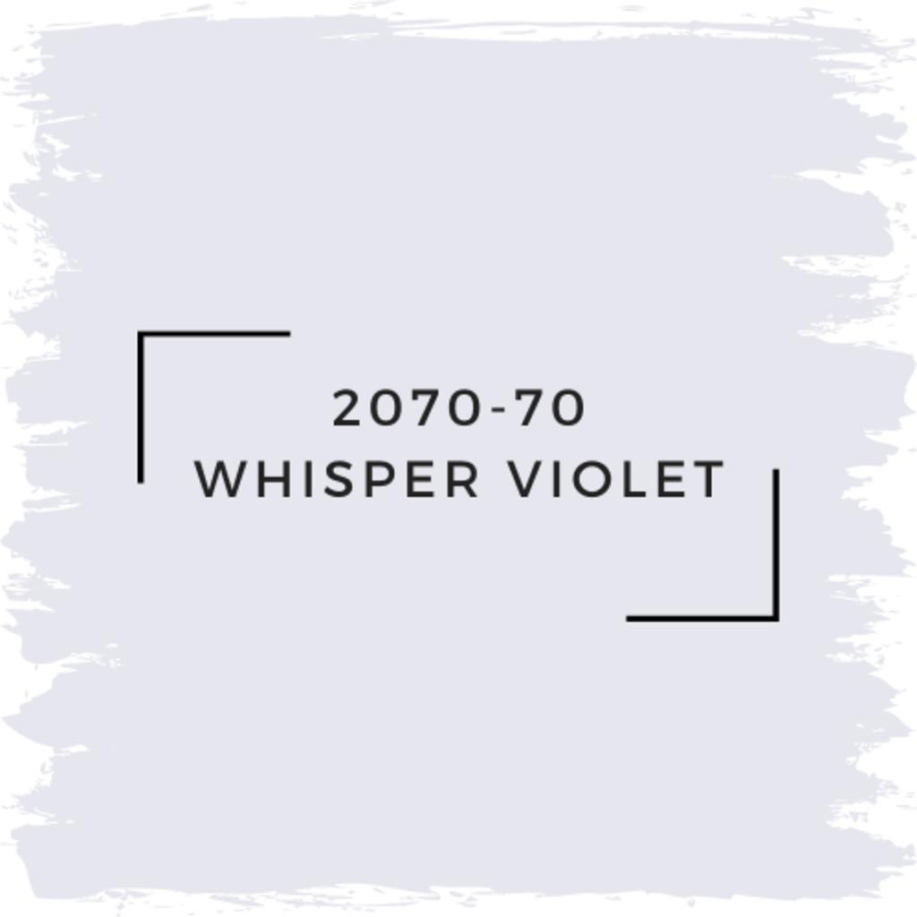 Benjamin Moore 2070-70 Whisper Violet