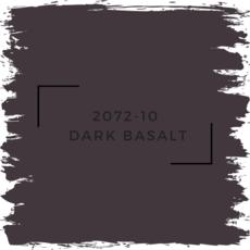 Benjamin Moore 2072-10  Dark Basalt