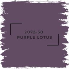 Benjamin Moore 2072-30  Purple Lotus
