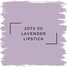 Benjamin Moore 2072-50 Lavender Lipstick