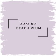 Benjamin Moore 2072-60  Beach Plum